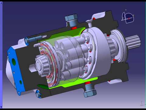 Piston pump drawing website